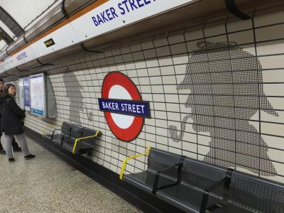 イギリスといえばシャーロック・ホームズ、シャーロック・ホームズといえばベーカーストリート
