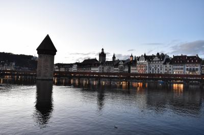 ルツェルン湖の橋