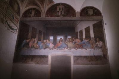 写真撮影可能になった「最後の晩餐」!