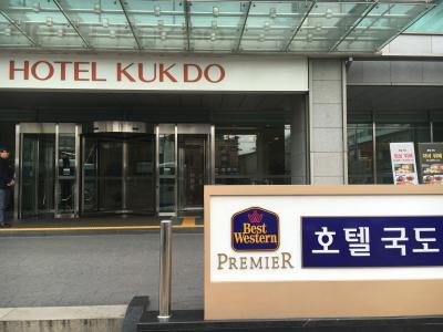 明洞から少し離れてるけど、日本語も通じて、便利なホテル