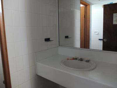 洗面所。アメニティは・・・石鹸があります!