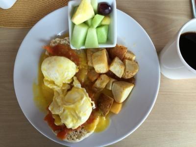 美味しい朝食が頂けるB&B