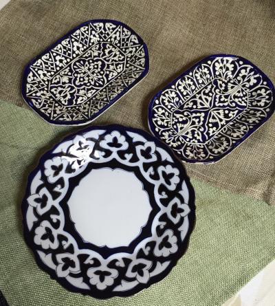 ウズベキスタン定番の食器