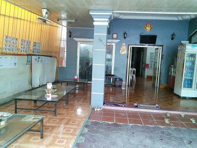 1階のレストラン&レセプション