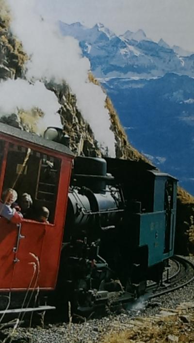 これぞスイスな電車
