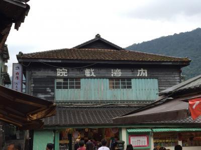 台湾のローカル線に乗って、古い町並みを見に行けます。