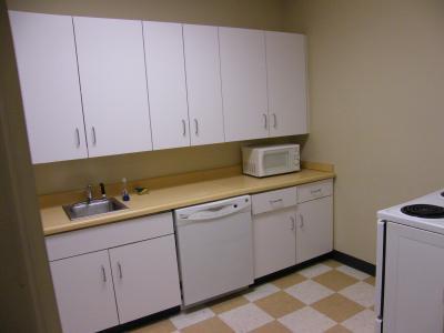 部屋毎に完備されたキッチン