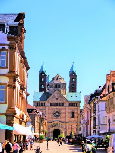 シュパイヤーの大聖堂と美しい街。