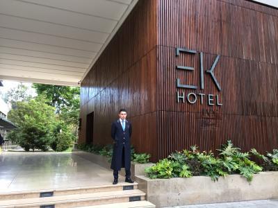 洗練されたブティックホテル