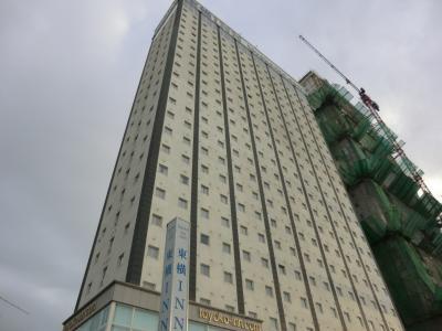 23階建の高層ホテルです。