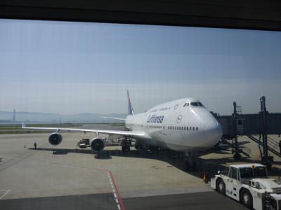 機内は非常に寒かった