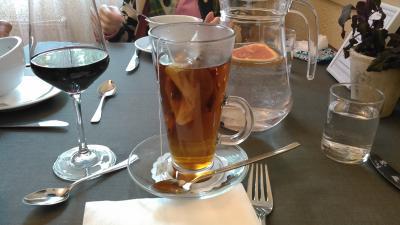 紅茶1.5ユーロ