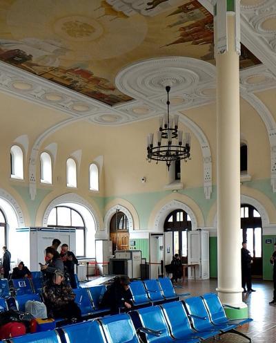 シベリア鉄道の切符を購入