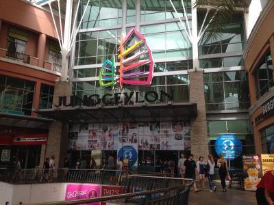 プーケット パトンビーチのショッピングセンター
