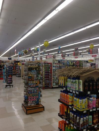 気合いを入れて挑むスーパーマーケット
