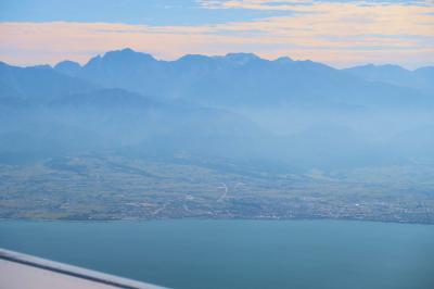 ANAの羽田~富山便は名山の最高の景色を楽しめる絶景路線です。