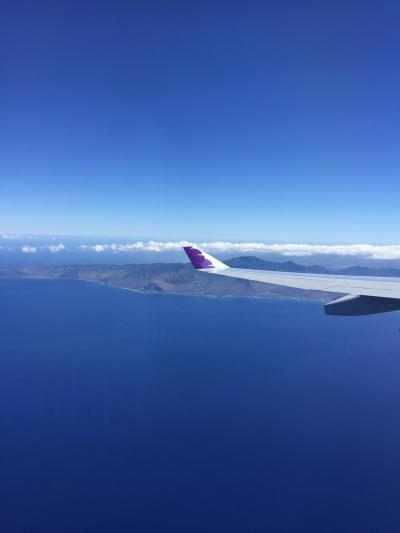 出発時間も悪くない!お値段も高くない!ハワイアン航空