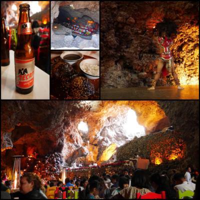 テオティワカン遺跡近くの洞窟レストラン【La Gruta】