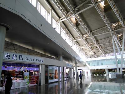 予想通り何もない空港