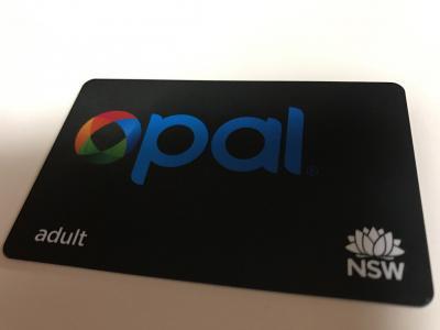 Opalカードが便利です