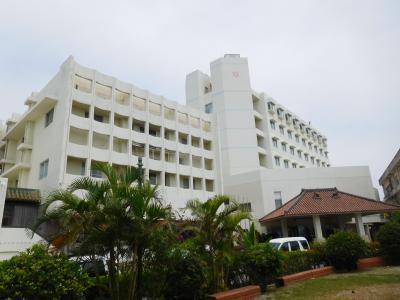 離島巡りに便利なホテルでした