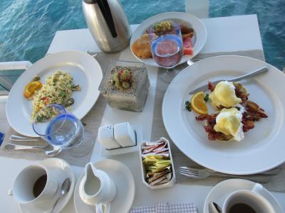 朝食はエッグベネディクトがお勧め