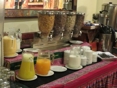 朝食時の飲み物
