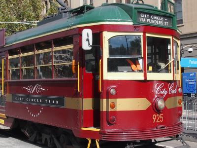35番 City Circle Tram :無料のトラムです。