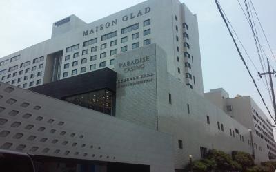 立派なホテル。