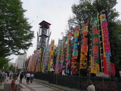 大相撲は立派な国技です。歴史があります。相撲博物館では 歴代の有名な横綱の綱が展示されています。