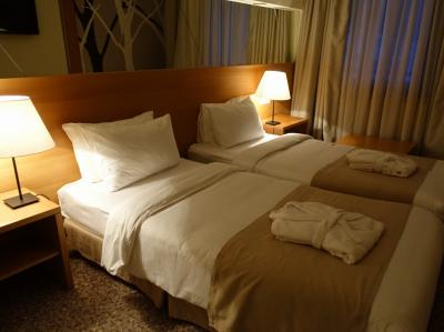 シンプルだけど快適な部屋