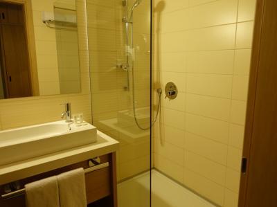 広々としたバスルーム。シャワーだけですが