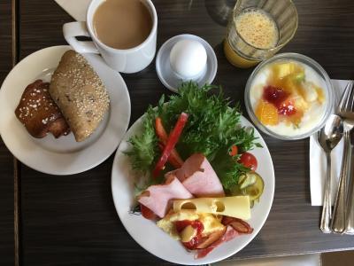 ホテル 朝食付き ビュッフェスタイル