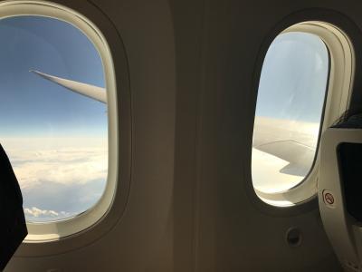 待望の成田発ハワイ路線787に搭乗!