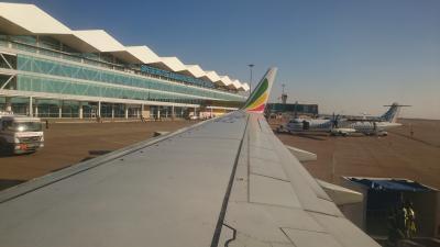 ボツワナの首都ハボローネの国際空港