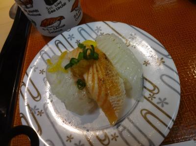 高級路線の回転寿司