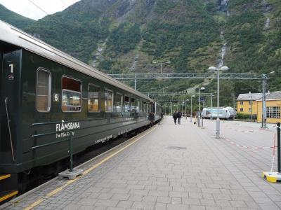 フィヨルドの観光列車