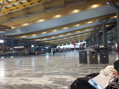 空港泊でも安心。