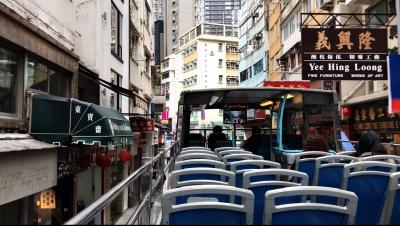 気軽に乗れるオープントップバス