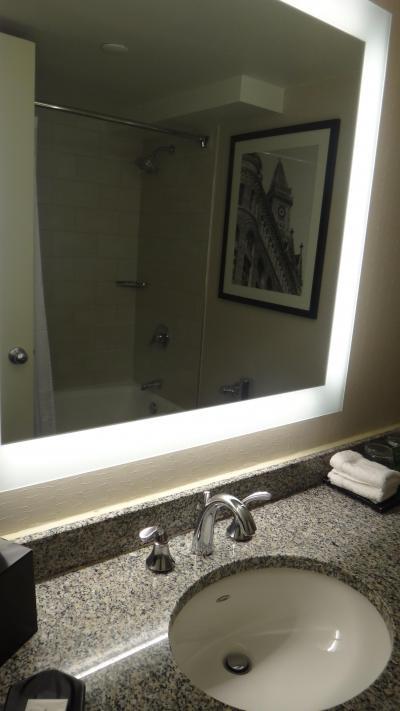 ある程度の広さはありますが、普通のバスルームです