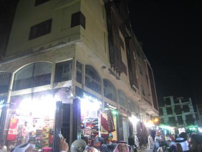 ジェッダの旧市街のスーク地区(世界遺産の構成資産)