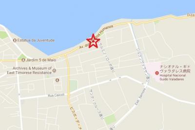 海岸通りに面していて、官庁や大学、病院も近くにあります。