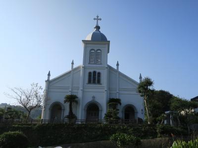 高台に建つ教会