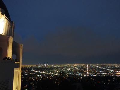 ロサンゼルスの夜景が一望できます♪