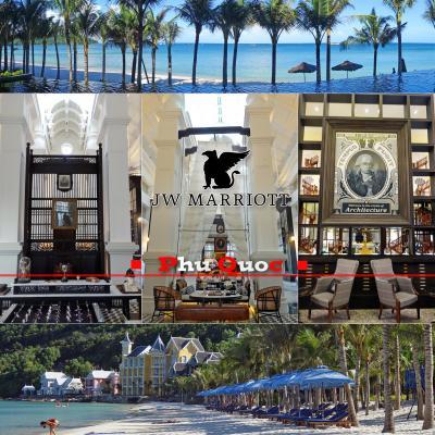 ビル・ベンスリーの設計の、JW マリオット フーコック エメラルド ベイは凄いホテルでした。