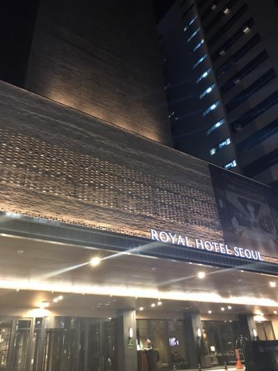 繁華街明洞の中心で便利なホテル
