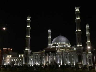 中央アジア最大のモスク