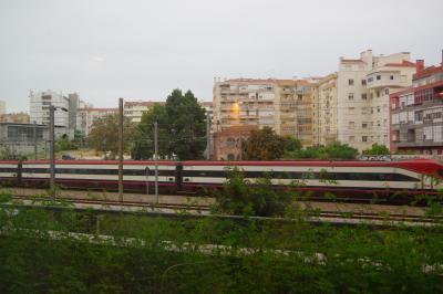 駅に近いので、列車viewでした