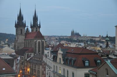 オールドタウンに位置しプラハ観光には最高