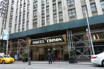 ホテル入口全体でここからしか入れません。